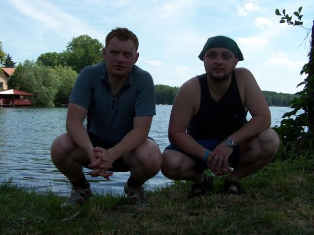 nad jeziorem w Łagowie